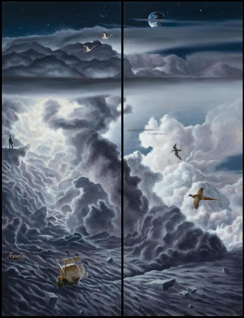 Sapiens Sapiens - Triptyque fermé – 2018